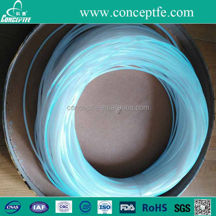 lubricant simple pure PTFE extruded tube pipe 1meter 2meters