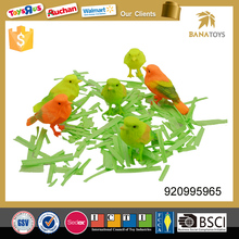 Plastic animal toy voice control bird toy for kids