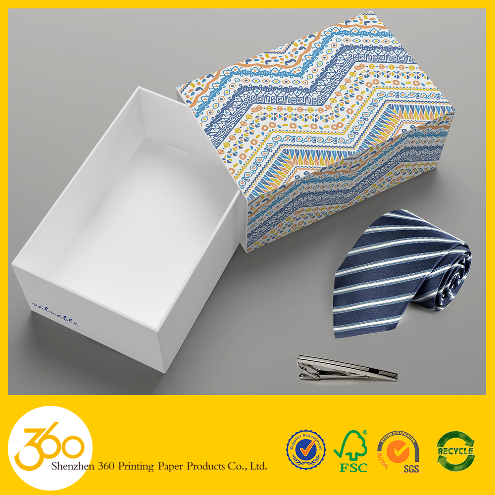 Factory Price bow tie packing necktie gift box