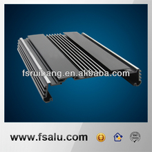 extrusion and milling machining aluminum electronic housing