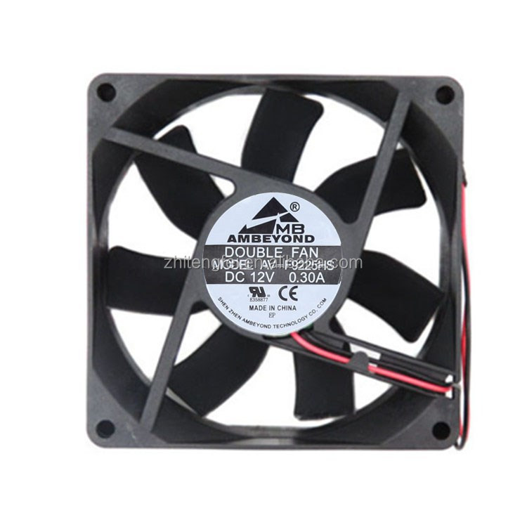 12V DC Brushless Cooling Fan for Water Cooler 90x90x25mm CPU Mini Fan Cooling
