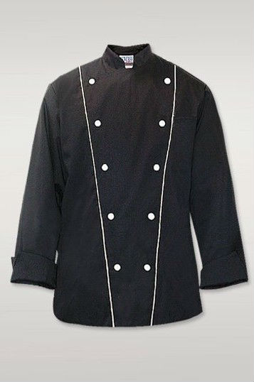 Black chef wear,chef coat,chef uniform