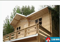 2015 Liqun sell unique good ready made Prefabricated Wooden house