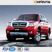 China truck 4WD double cabin diesel 4x4 pickup for sale