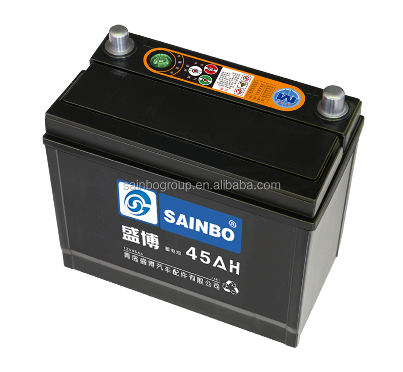 Good Working Condition Recycle Battery Car Battery 12V 54523 45Ah Lead Acid Car Battery