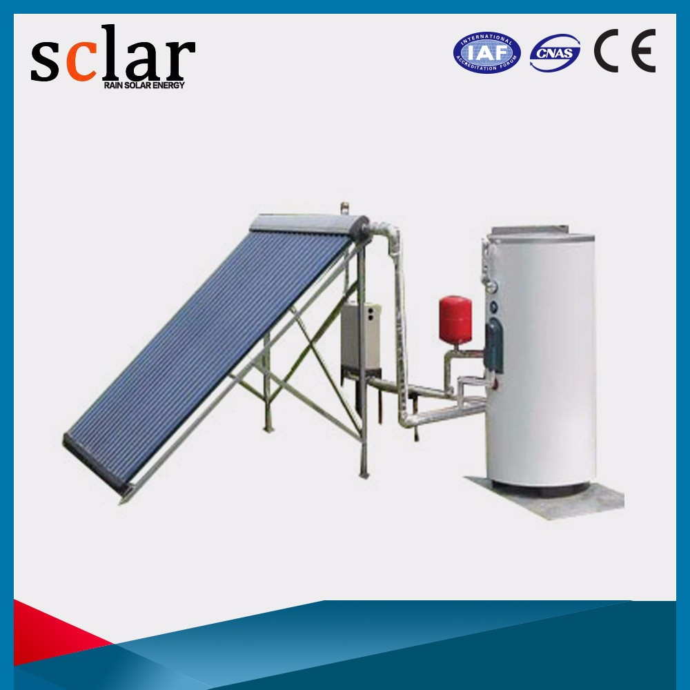 Stable Quality Integrated Vacuum Tube Hot Compact Pressurized Evacuated Solar Water Heater