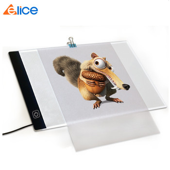 Adjustable Ultra-thin Lightweight Tattoo Drawing Tracer Art design Stencil USB LED Light Pad Animation Sketching Tracing Table