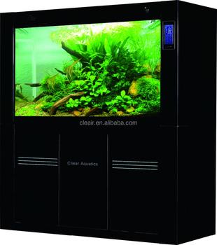 Cleair aquatics glass fish tank with bottom filter for Fish tank bottom filter