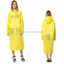 yellow pink blue green raincoat for men and women
