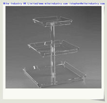 Thick Clear Acrylic Wrist Watch Display Rack / Holder / Stand for Retail Store