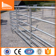 Heavy duty hot dipped galvanized corral panels/metal livestock panel fence