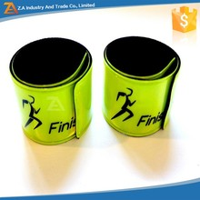 Reflective Snap Pop Band Bracelets Pant Cuff Strap for Cycling / Bike / Running / Walking