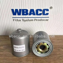 WBACC 432 901 228 0 AIR DRYER FILTER WITH CAP AIR DRYER CARTRIDGE(WBACC-16)
