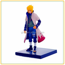 Custom hot cartoon toy naruto dad figures, naruto model toy