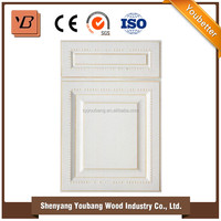 China new products White PVC kitchen cabinet door from alibaba store