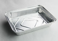 2LB Oblong Take-Out Aluminum Foil Pan with Board Lid