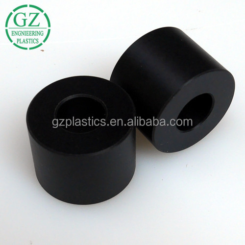 High precision cnc machining manufacturers colored polyamide nylon plastic wheel ring spacer