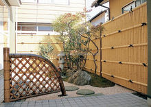 Artificial Bamboo fence panels