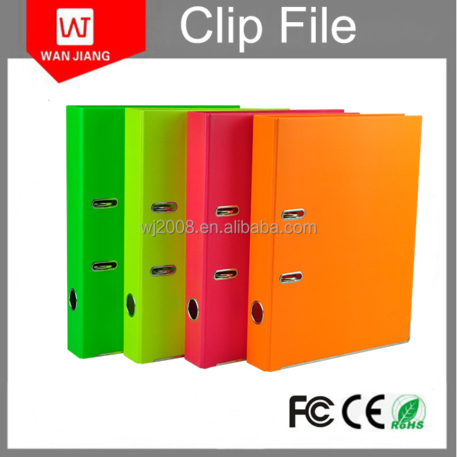 PP PVC Lever Arch File a4 size file folder high quality spring file