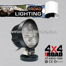 High performance Most Economical prices 18W ATV LED light, led Offroad Light 6pcs LED*3w