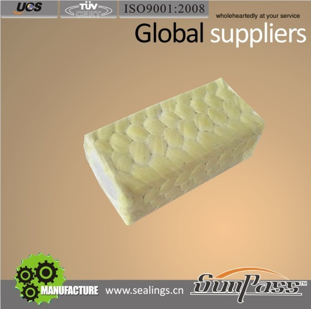 Fiberglass Fiber Packing Top Sale Fiber Glass Core PTFE Kevlar Gland Packing
