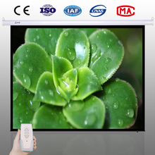 72 inch 84 inch 96 inch 100 inch motorized electric projector screen high gain waterproof projection screen