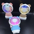 2018 hot sales summer promotion gift rechargeable fan handheld led fan