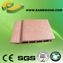 Decorate Great Anti UV WPC Wood Siding For Outdoor House