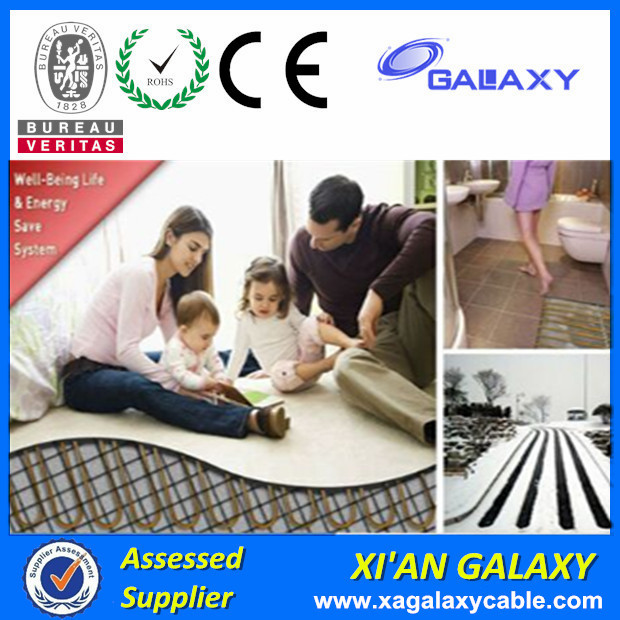 Easy Heat Underfloor Heating Cable 220v Single Conductor Heating Cable