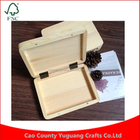 Custom Document Marriage Photoes Wood Box Packaging