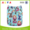 Alvababy Matryoshka Doll Design Ecological Diapers Baby Reusable Diapers