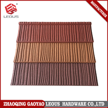 Buidling Material aluminum Stone Coated roofing shingles