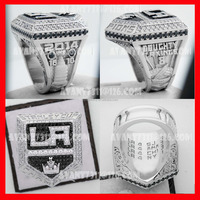 stanley cup hockey NHL ice Los Angeles kings replica championship ring jewelry