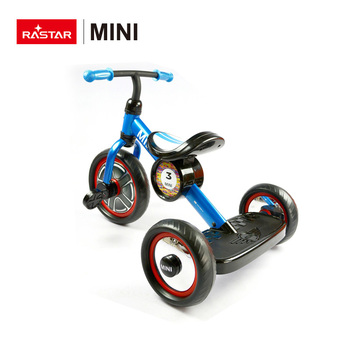 RASTAR MINI COOPER licensed kid bicycle safe ride baby tricycle for 3 years old children