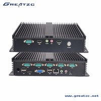 ZC G1037U6C Fanless Industrial Computer With