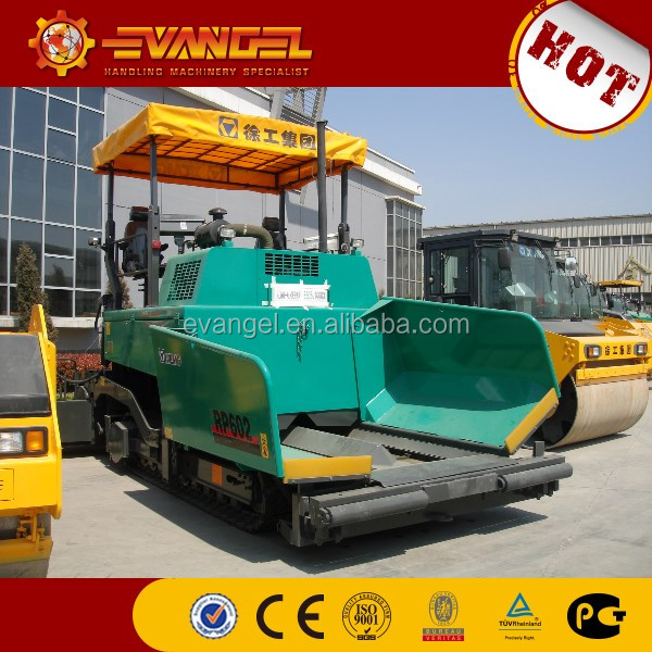 XCMG RP602 Used Asphalt Concrete Paver finisher