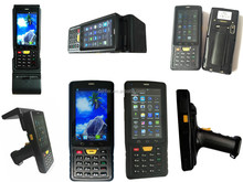 Android Mobile Outdoor Used Rugged Pda with Wifi ,Handhled Ublox GPS PDA , 3G,GPRS Smart Phone Features with Barcode scanner PDA
