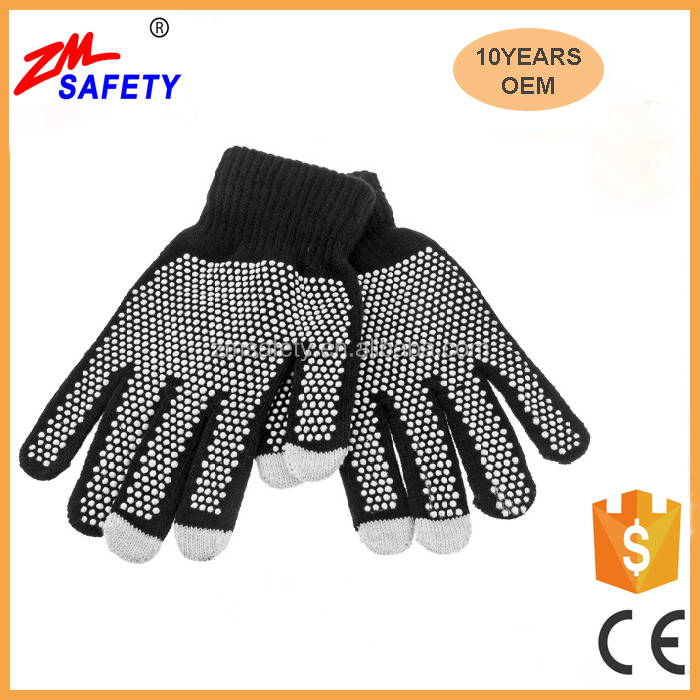 Christmas Gift Capacitive Touch Screen Glove with Non-Slip Dots Grip