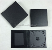 Guangzhou Factory OEM Leather/ PU Material Wedding CD Case Dvd Box