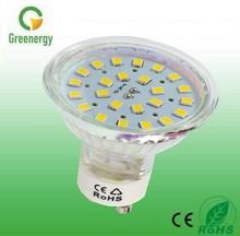 2016 Greenergy 3.5W 5050-21SMD 240lm Super Bright 5050 smd GU10 led lamps
