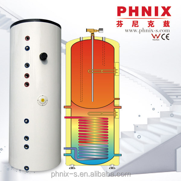 Horizontal or vertical type optiom warm water heater
