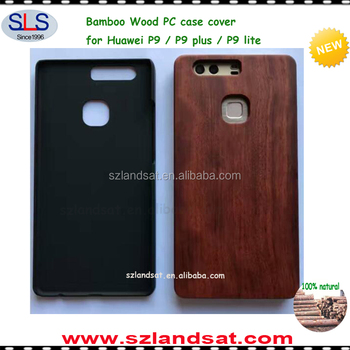 2017 New natural engraving custom case for huawei P9 bamboo wood pc case for huawei P9 plus lite & P8 P9 Mate BCP9