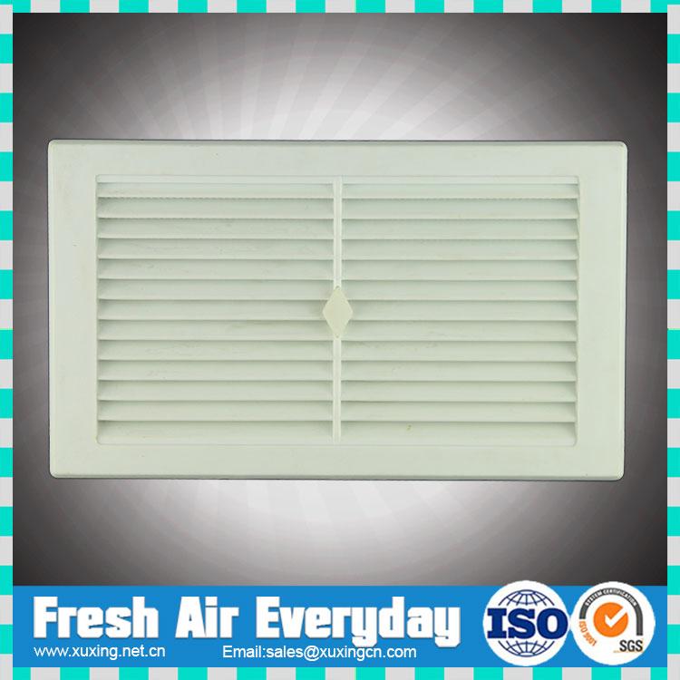 Hvac plastic valve air vent pvc plastic supply air grille - Grille ventilation fenetre pvc ...