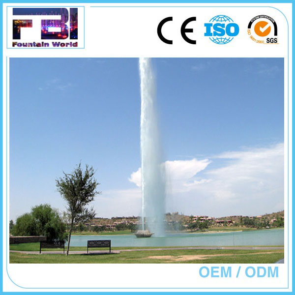 High Pressure Outdoor Fountain High Spray Fountain Head For Pool Fountain