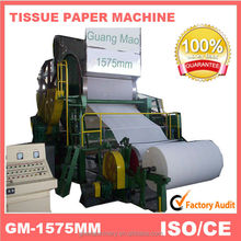 2014 new products on market,1575mm high speed handkerchief paper making machine