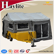 Luxury Folding Camper Trailer with canvas tent for sale HLT