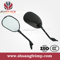 FLYQUICK wholesale motorcycle part prices in china,motorcycle motorbike racing bike plastic side mirror for DA100 FZ16
