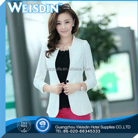anti-wrinkle hot sale polyester/rayon business suit for woman with skirt