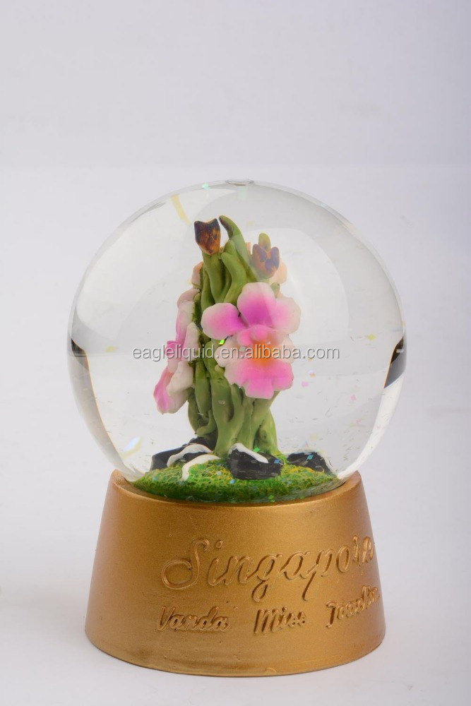 Tourist Souvenir Snow Globe Custom Water Ball With standard Decoration
