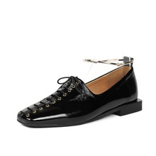 Wholesale simple design lace up women's shoes pump